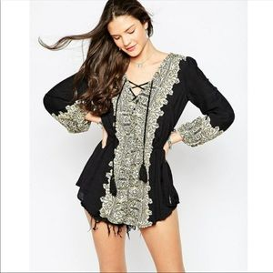 Free People Wildest Moments Tunic Dress